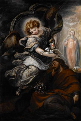Angel Appears to Joseph in a Dream - Rizi Francisco
