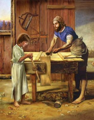 Joseph the Worker by Michael Adams