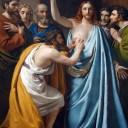 The Incredulity of Saint Thomas by Francois-Joseph Navez