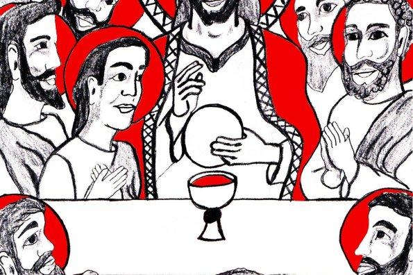 La Ultima Cena y Primeira Eucaristia