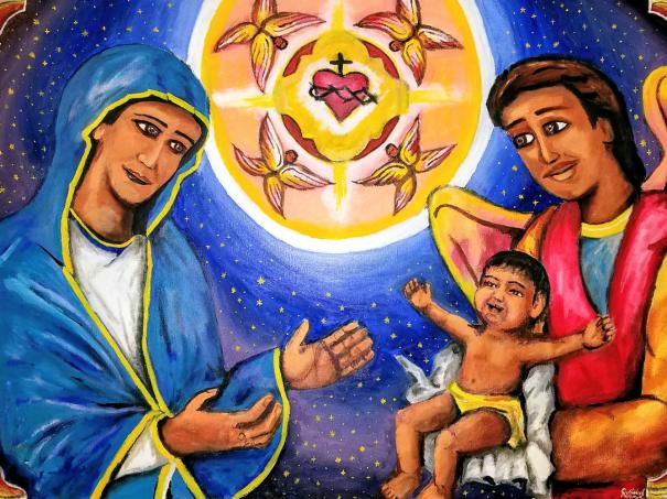Presentation of Anthony to Mary