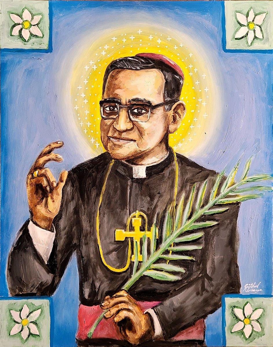 El mártir S. Óscar Romero