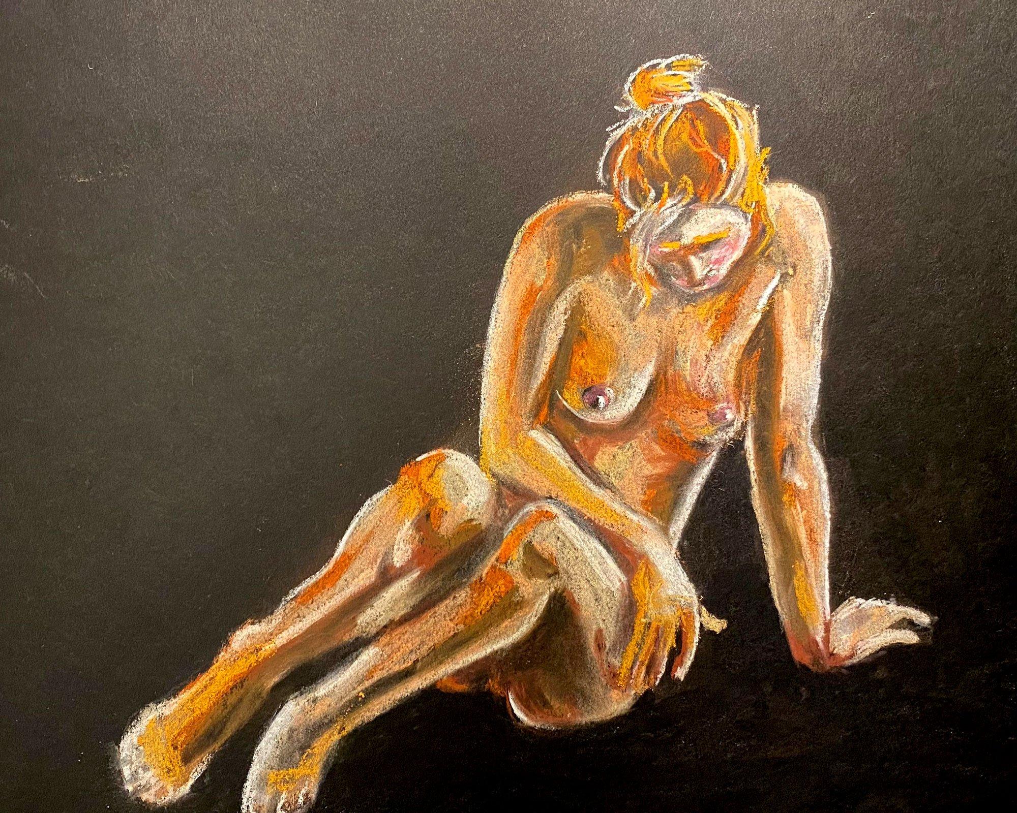 Mujer en Oscura Soledad