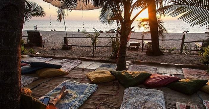 1. India, Goa, Agonda Beach