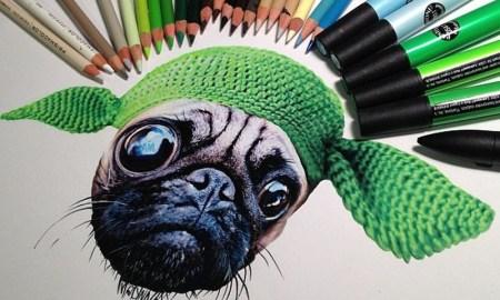 Удивительные реалистичные рисунки Карлы Миалинн
