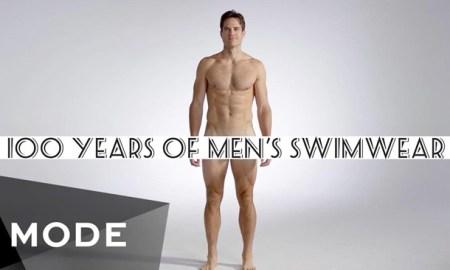Вот как изменились мужские купальные костюмы за 100 лет.