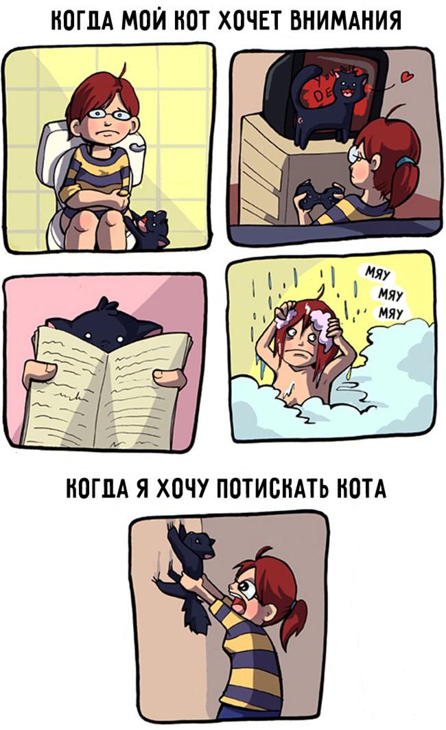 комиксы-про-отношения-кошек-и-людей-3