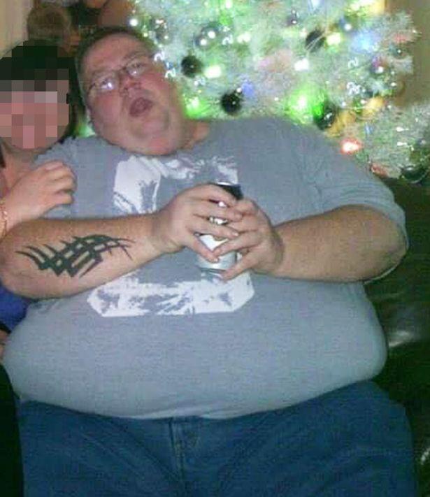 Стюарт до похудения