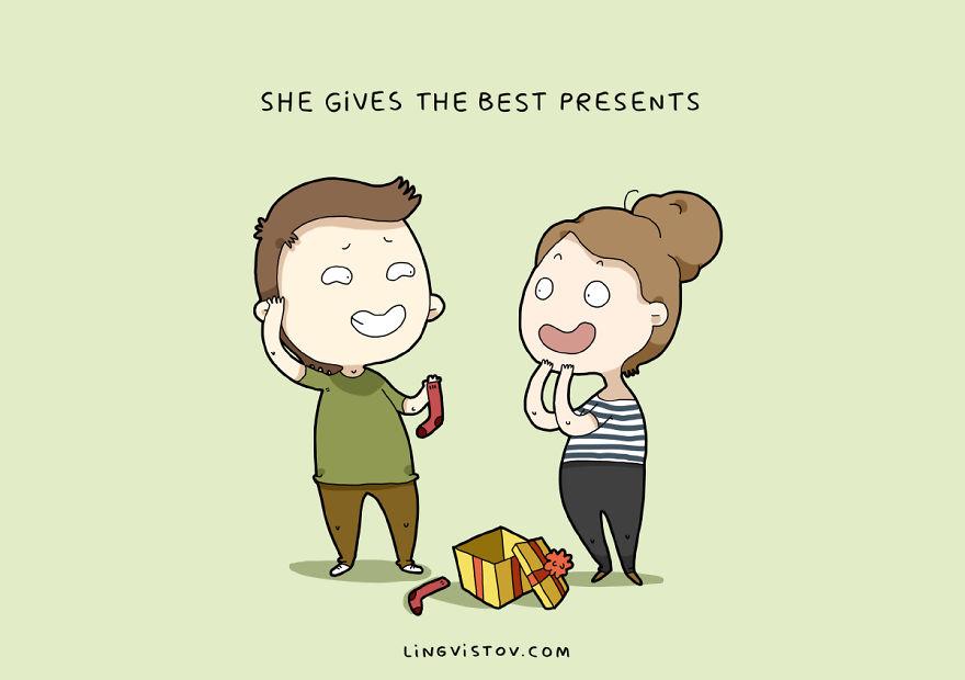 Она дарит лучшие подарки