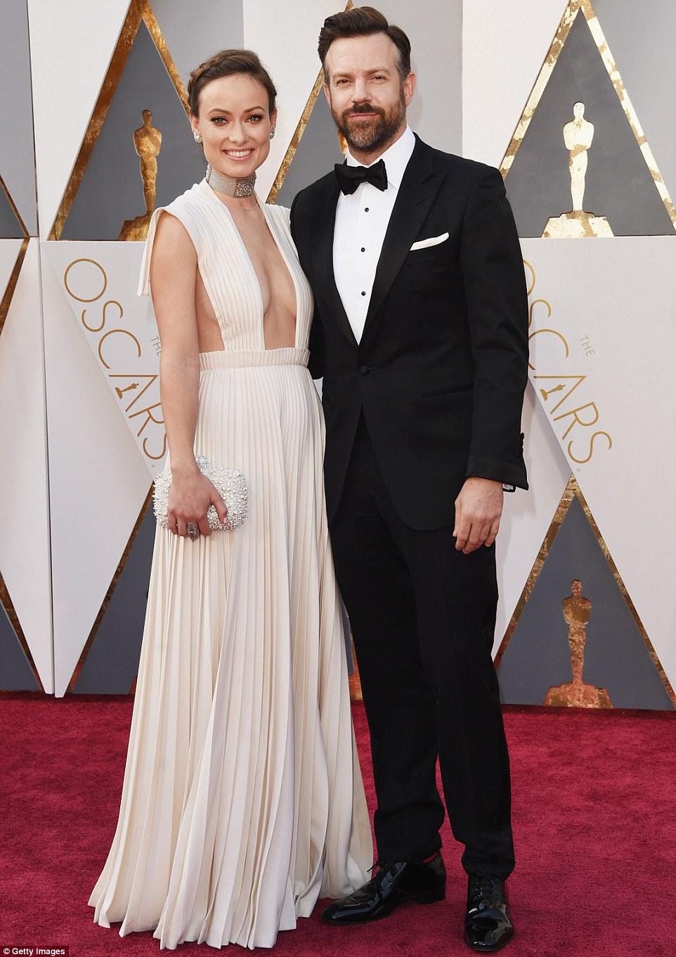 Оливия Уайлд с мужем