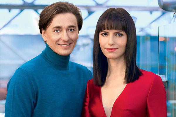 Сергей и его новая возлюбленная режиссер Анна Матисон