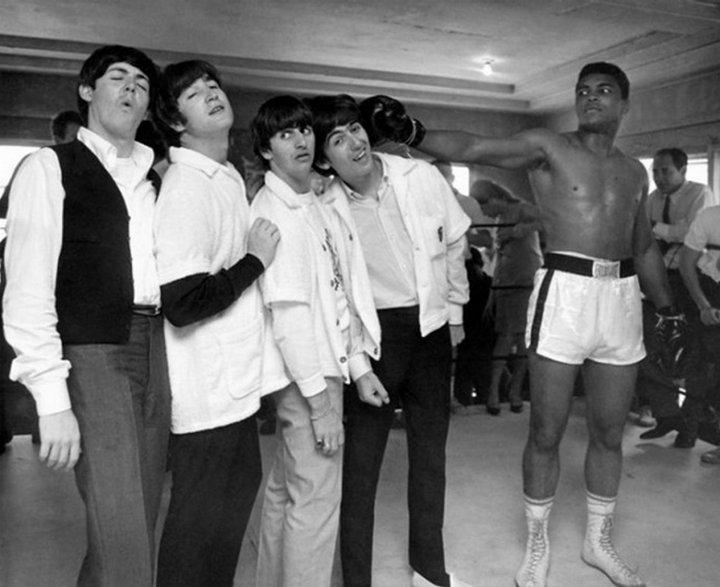The Beatles и Мохаммед Али, 1964 г.