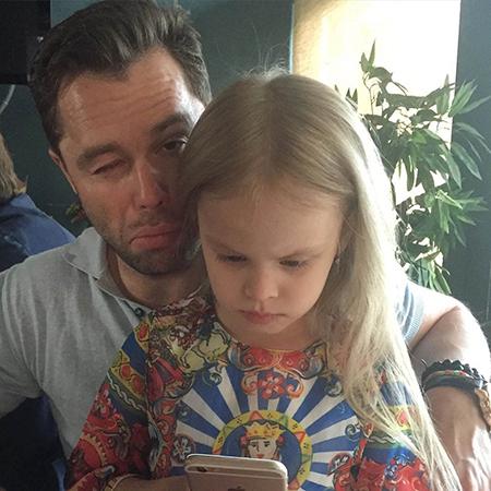 Виталий Гогунский с дочерью