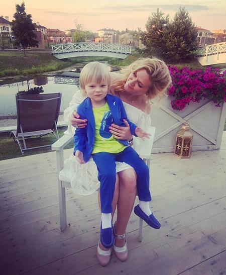 Наталья Шкулева с Сашей Плющенко