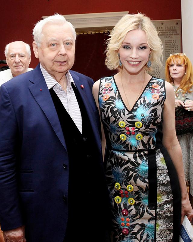 Олег Табаков и Марина Зудина. Разница в возрасте — 30 лет