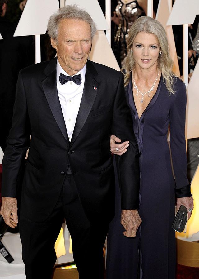 Клинт Иствуд и Кристина Сандера. Разница в возрасте — 33 года