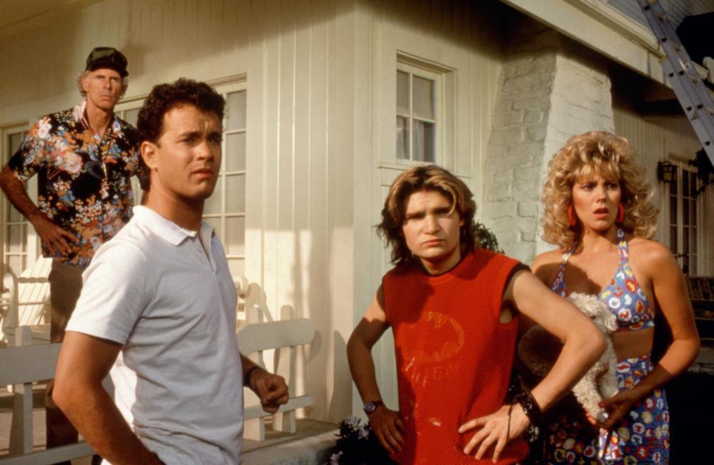 THE BURBS, Bruce Dern, Tom Hanks, Corey Feldman, Wendy Schaal, 1989, (c)Universal