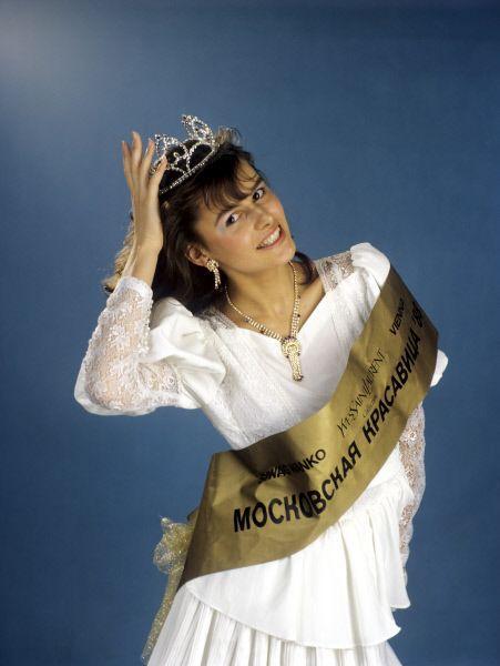 Победительница конкурса красоты Мария Калинина