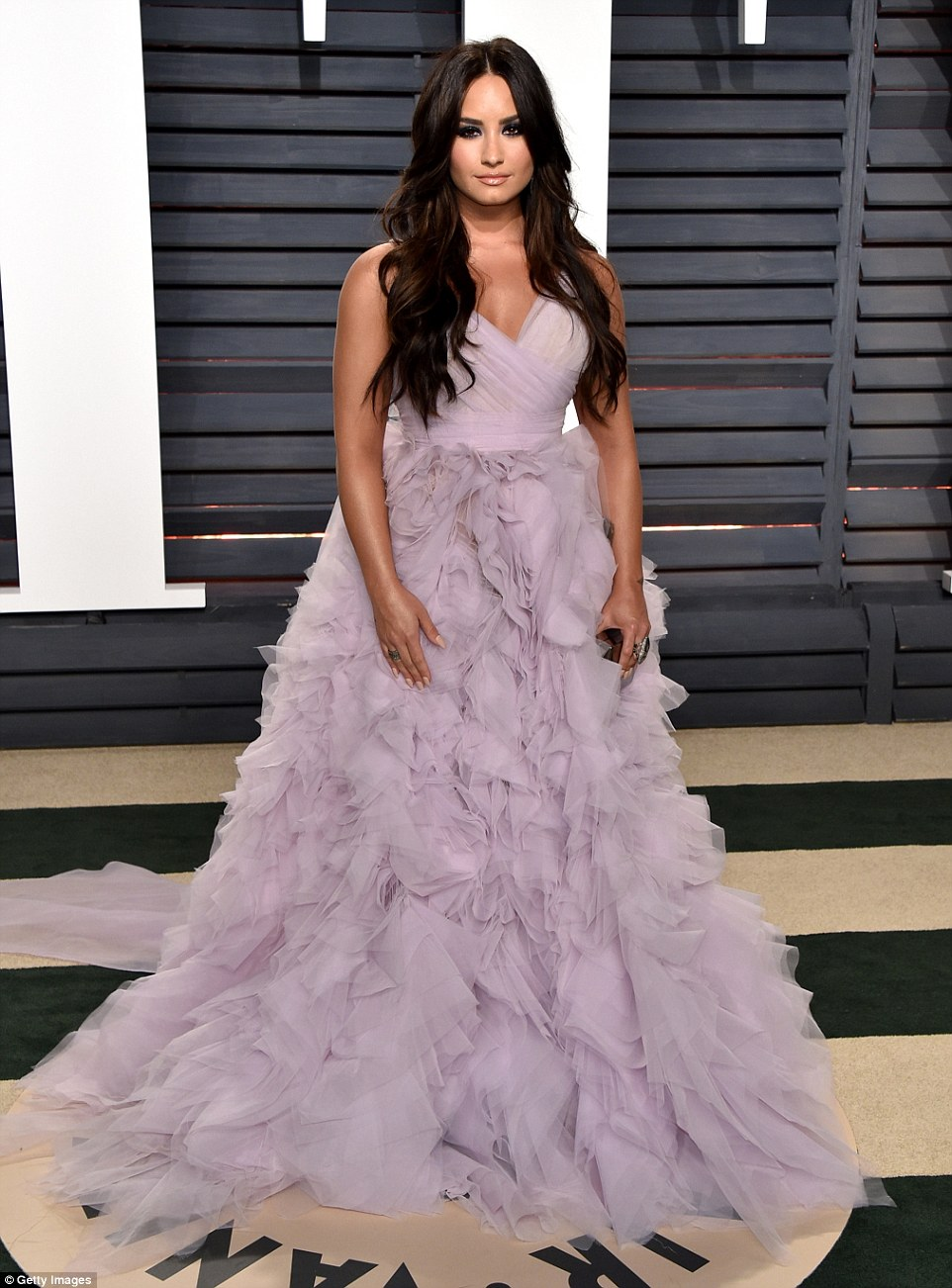 3DBCFB7300000578-0-Layers_of_lavender_Demi_Lovato_24_went_with_an_over_the_top_gown-a-18_1488181785458