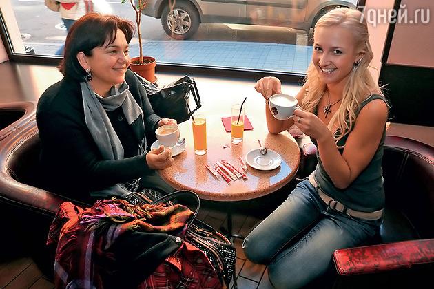 Ольга с мамой