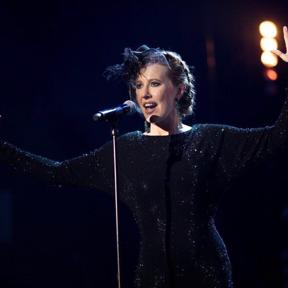 Собчак запела — про свою грудь и задницу на сцене «Фабрики звезд» — видео