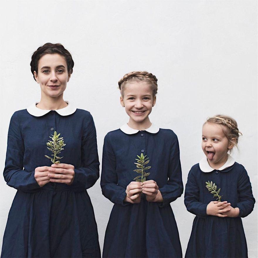 Эта мама делает невероятно милые ФОТО со своими дочками