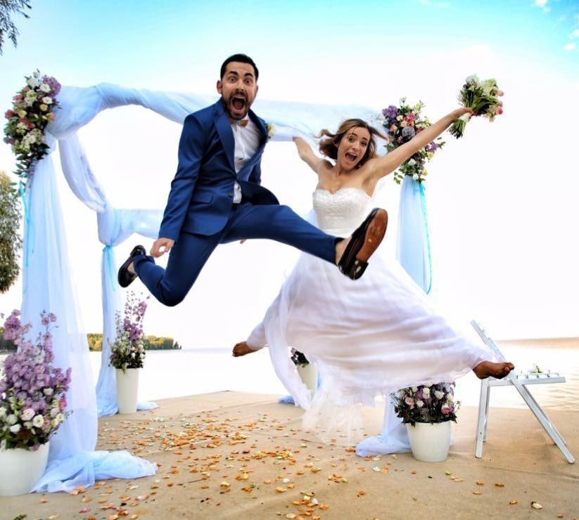 Бедняков и Короткая отметили годовщину, показав ФОТО свадьбы