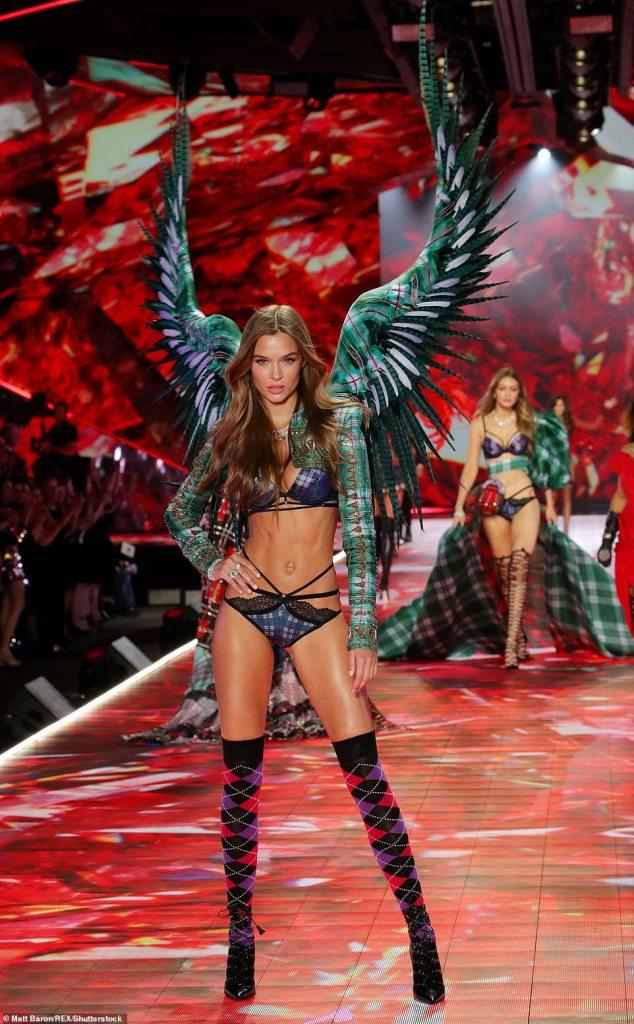 Шоу Victoria's Secret 2018: известные модели на легендарном подиуме — фото
