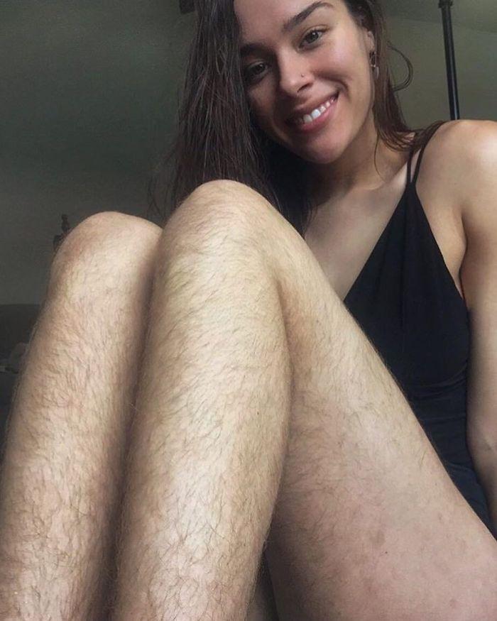 Волосатый январь: женщины, которые решили не бриться ради флешмоба — фото