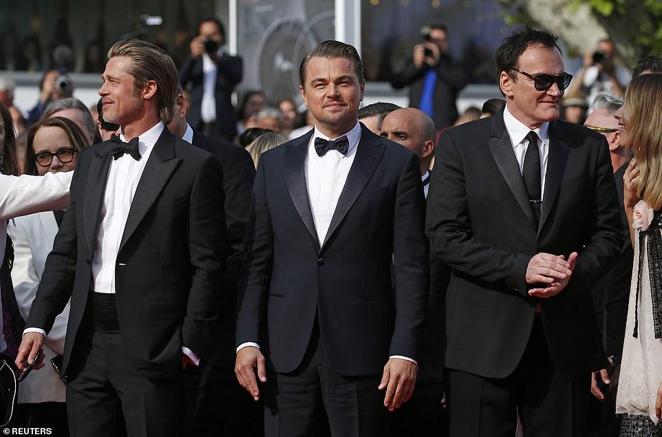 Лео ДиКаприо, Брэд Питт и Тарантино представили в Каннах свой фильм — фото
