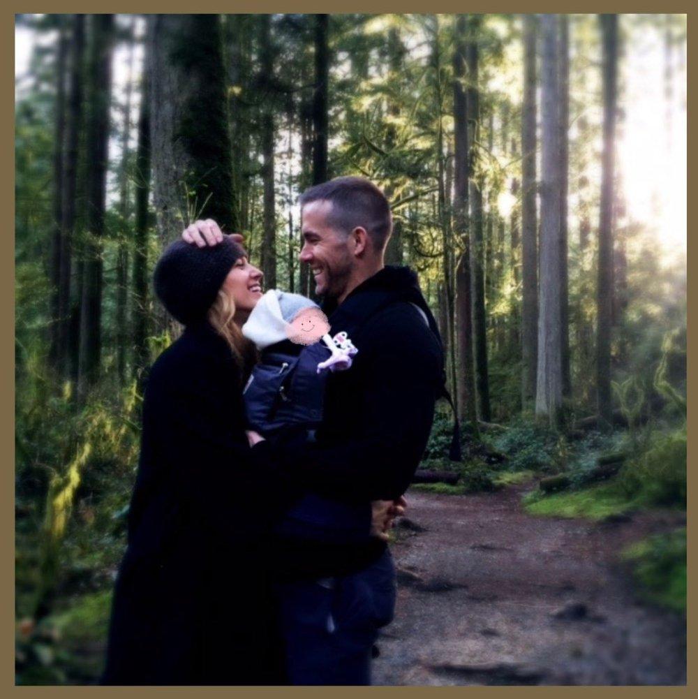 Райан Рейнольдс показал первое фото с Блейк Лайвли и третьим ребенком