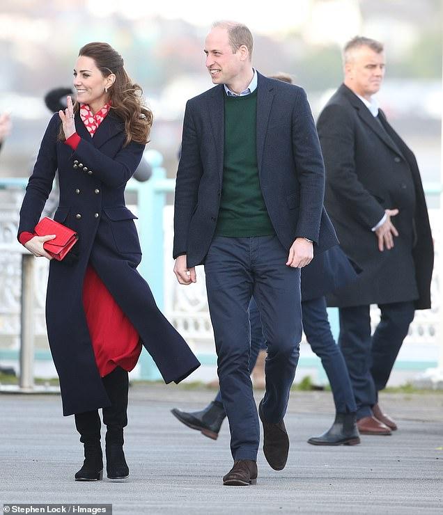 Принц Уильям и Кейт Миддлтон просто светятся от счастья вместе