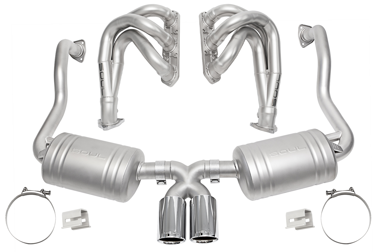porsche 986 boxster competition exhaust package