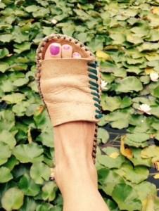 Spiral Sandal