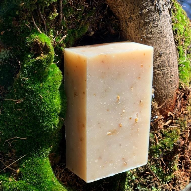 Shea Honey Oat Organic Face and Body Bar