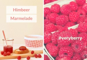 Himbeer-Marmelade: very berry!
