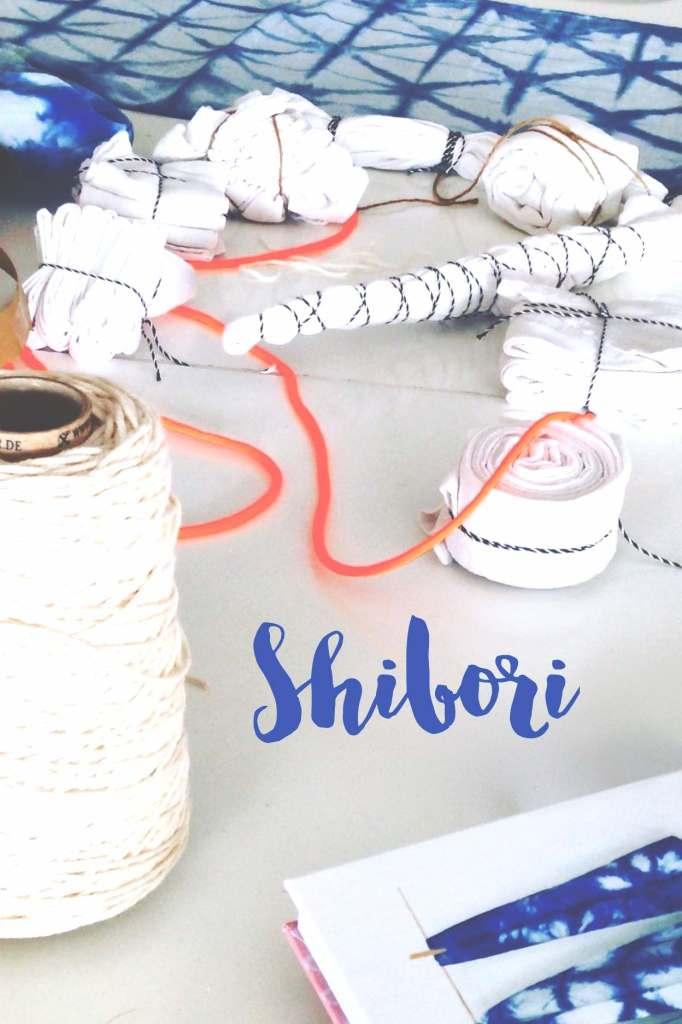 Shibori Färben mit Renna Deluxe: das step-by-step Tutorial