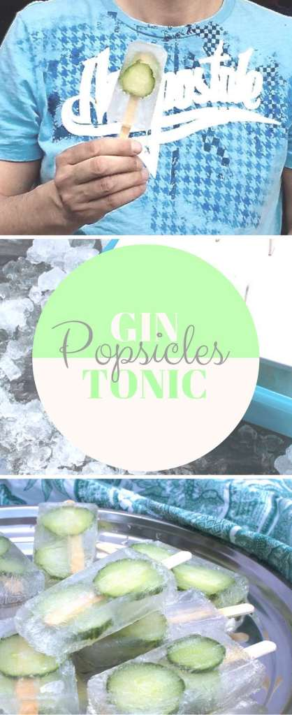 Gin Tonic Popisicles: der eiskalte Aperitif!