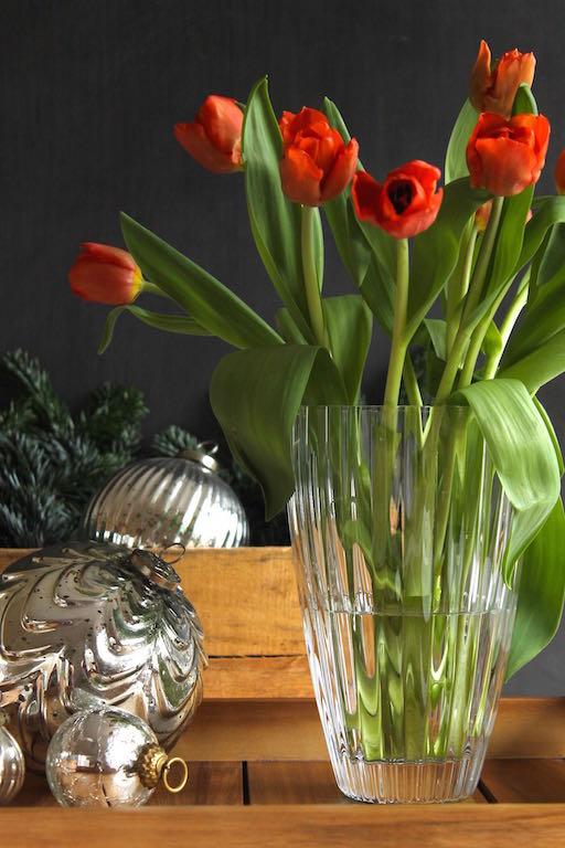 Geschenkidee: Tulpen in der Vase