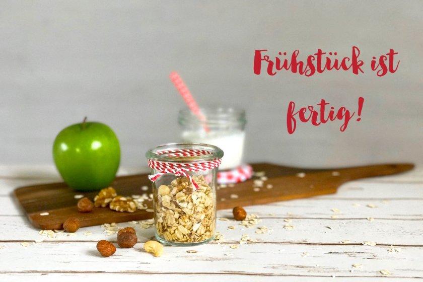 Knuspirges Granola: gesundes Frühstück selbstgemacht