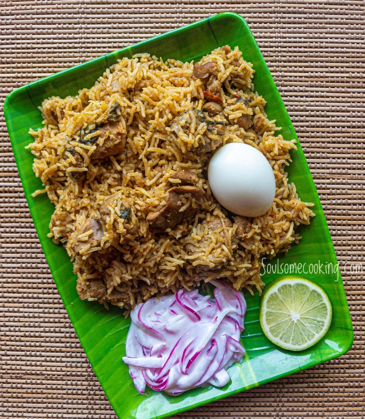 """Chicken Biriyani"""