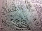 Lino carving progressions