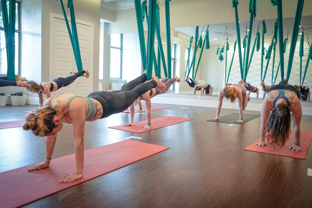 Get Back in the Swing of Things with Aerial Classes at Soul Sweat Hot Yoga
