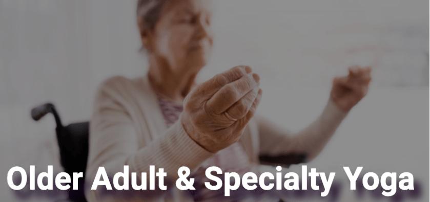 older adult yoga