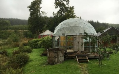 Discovering Self Sufficiency at an Eco Yoga Retreat in Scotland.