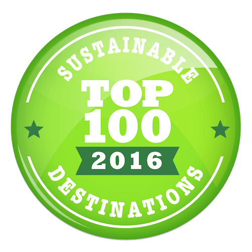 The 100 Most Sustainable Destinations for 2016.