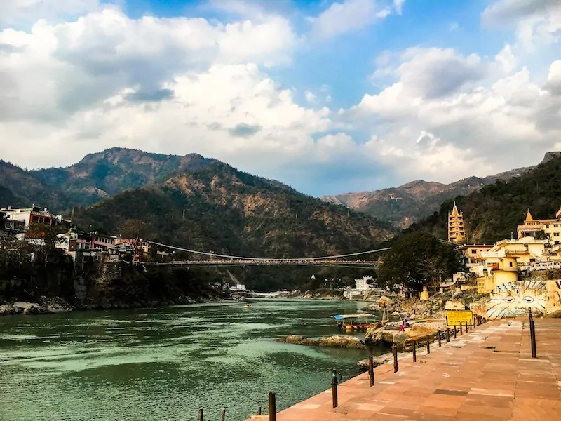 Finding Soul in Rishikesh, India.