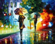 Dreams of the Rain by Leonid Afremov
