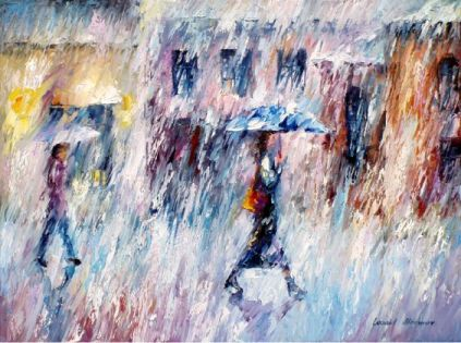 Rain of Emotions by Leonid Aframov