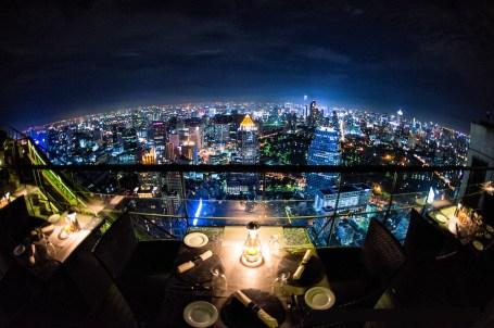 dining Bangkok-City-View-at-Night-from-Rooftop-Restaurant Banyan Tree Hotel